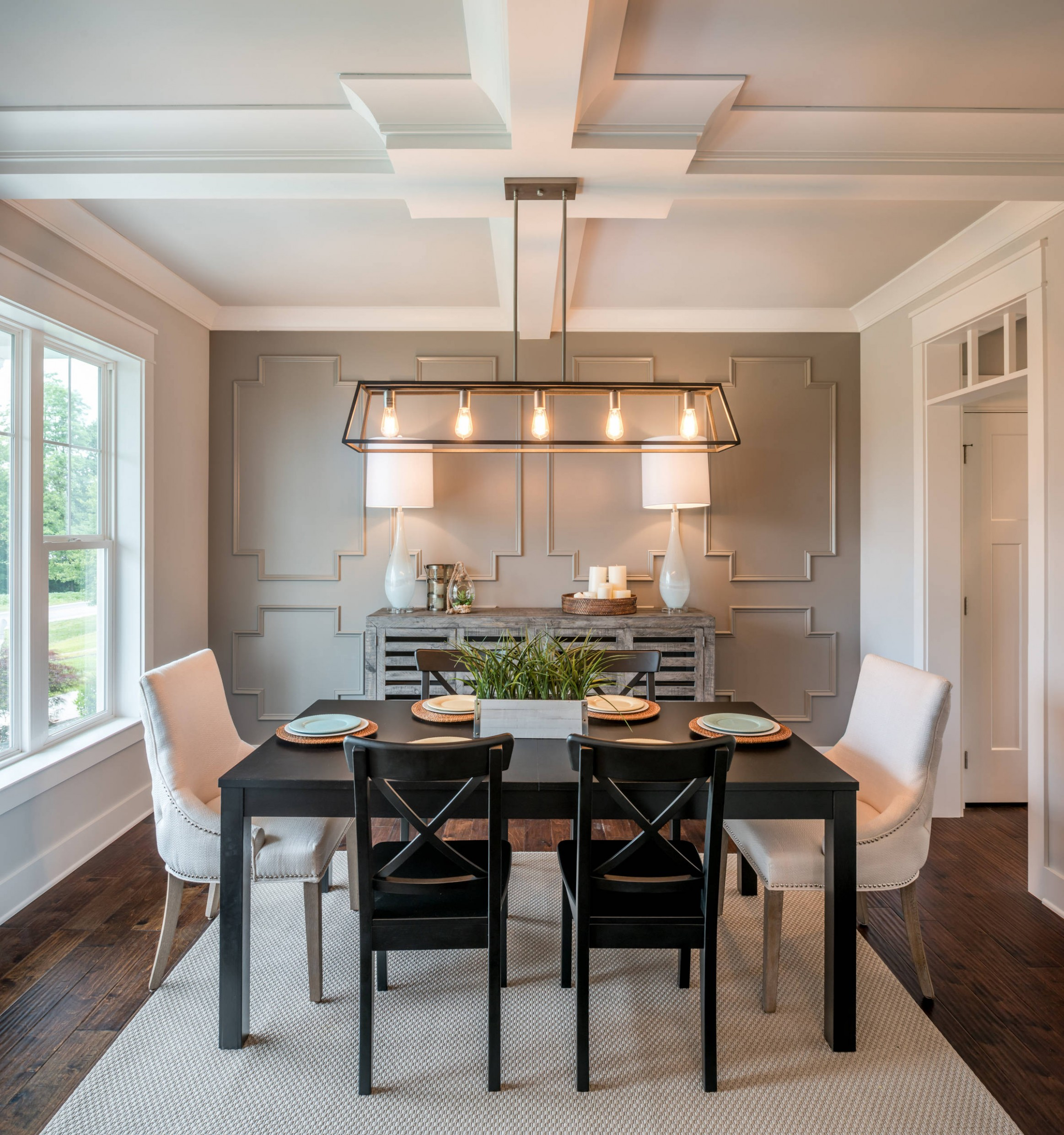 10 Beautiful Farmhouse Dining Room Pictures & Ideas - October  - Dining Room Ideas Modern Farmhouse
