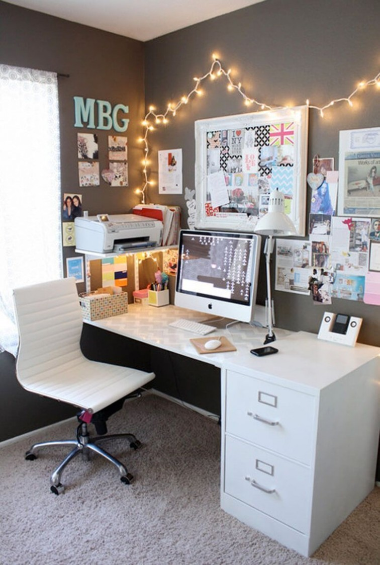 10 Beautiful Makeup Room Ideas, Organizer and Decorating  Home  - Makeup Room And Home Office