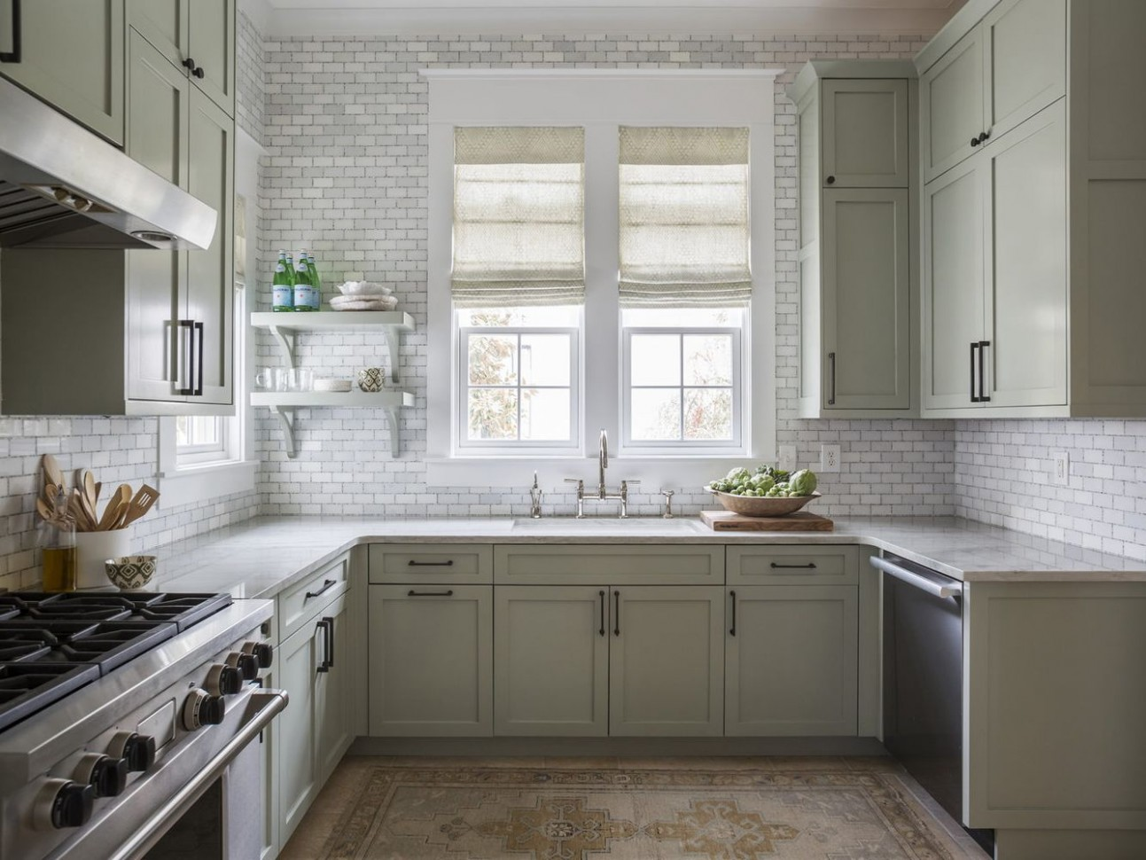 10 Beautiful Open Kitchen Shelving Ideas - Replace Just One Wall Of Kitchen Cabinets