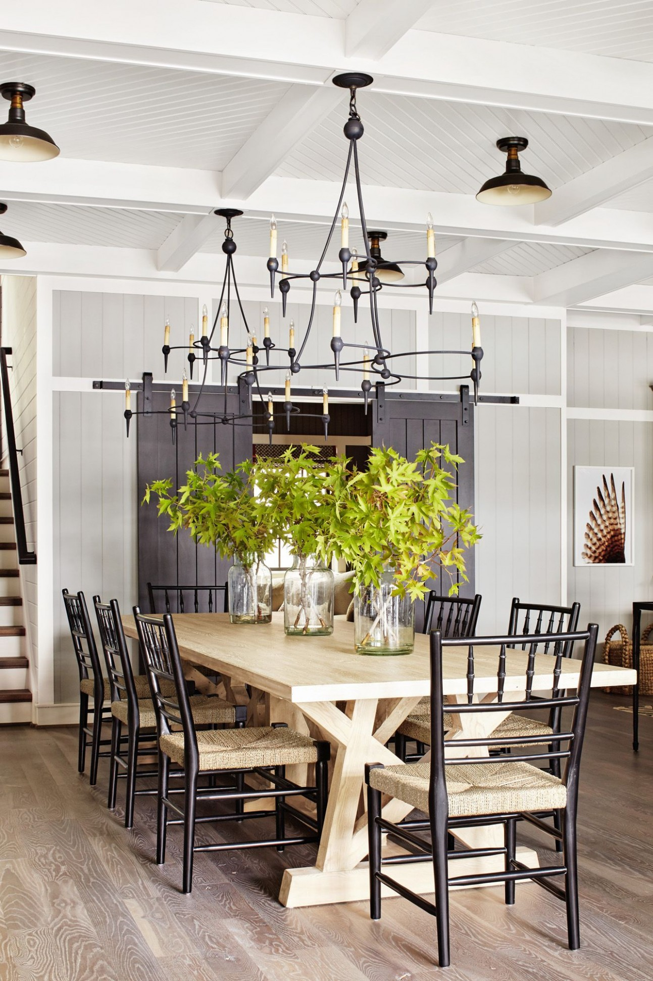 10 Best Dining Room Decorating Ideas - Country Dining Room Decor - Dining Room Ideas Tables