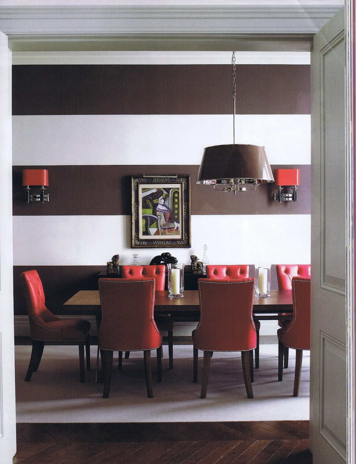 10 Colors That Jive Well With Red Rooms - Dining Room Ideas Red