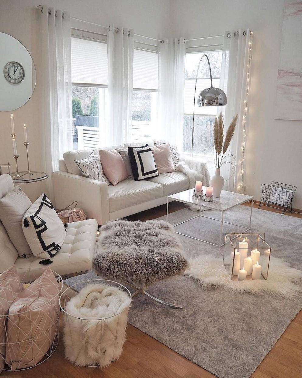 10 Cozy Apartment Living Room Decorating Ideas - decorationroom  - Apartment Living Room Decor Ideas
