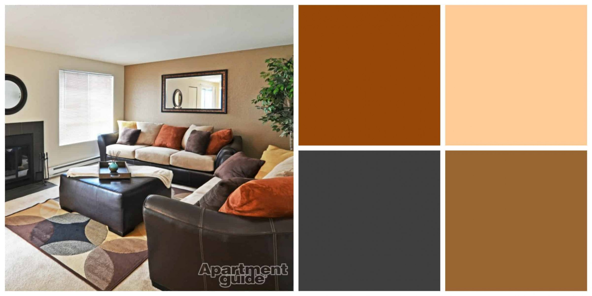 10 Easy Breezy Earth Tone Palettes for Your Apartment  - Bedroom Ideas Earth Tones