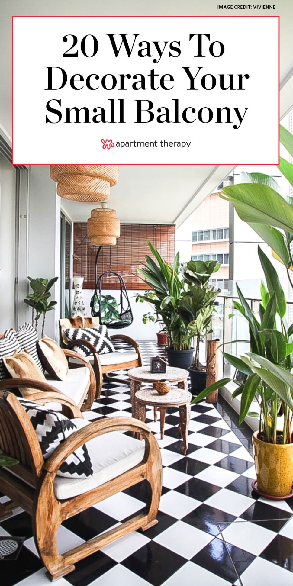10 Fun Balcony Ideas - How to Decorate a Small Balcony  Apartment  - Balcony Ideas Apartment