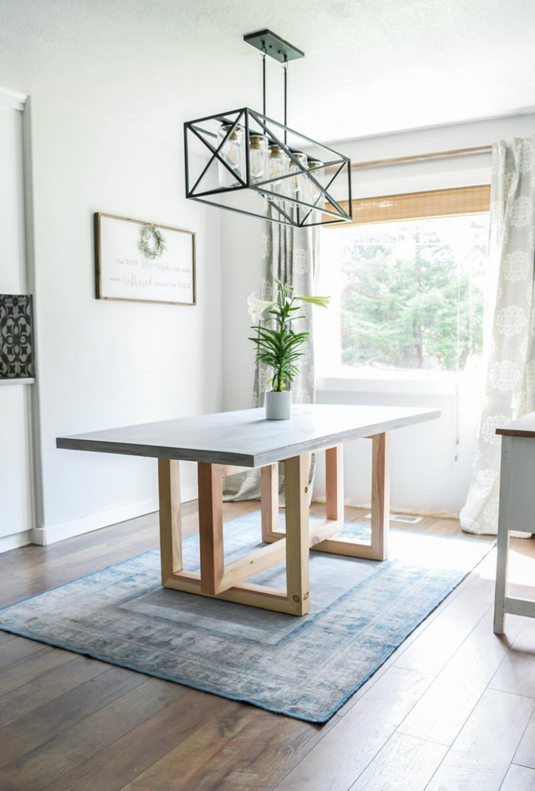 10 Gorgeous DIY Dining Table Ideas and Plans – The House of Wood - Dining Room Ideas Tables