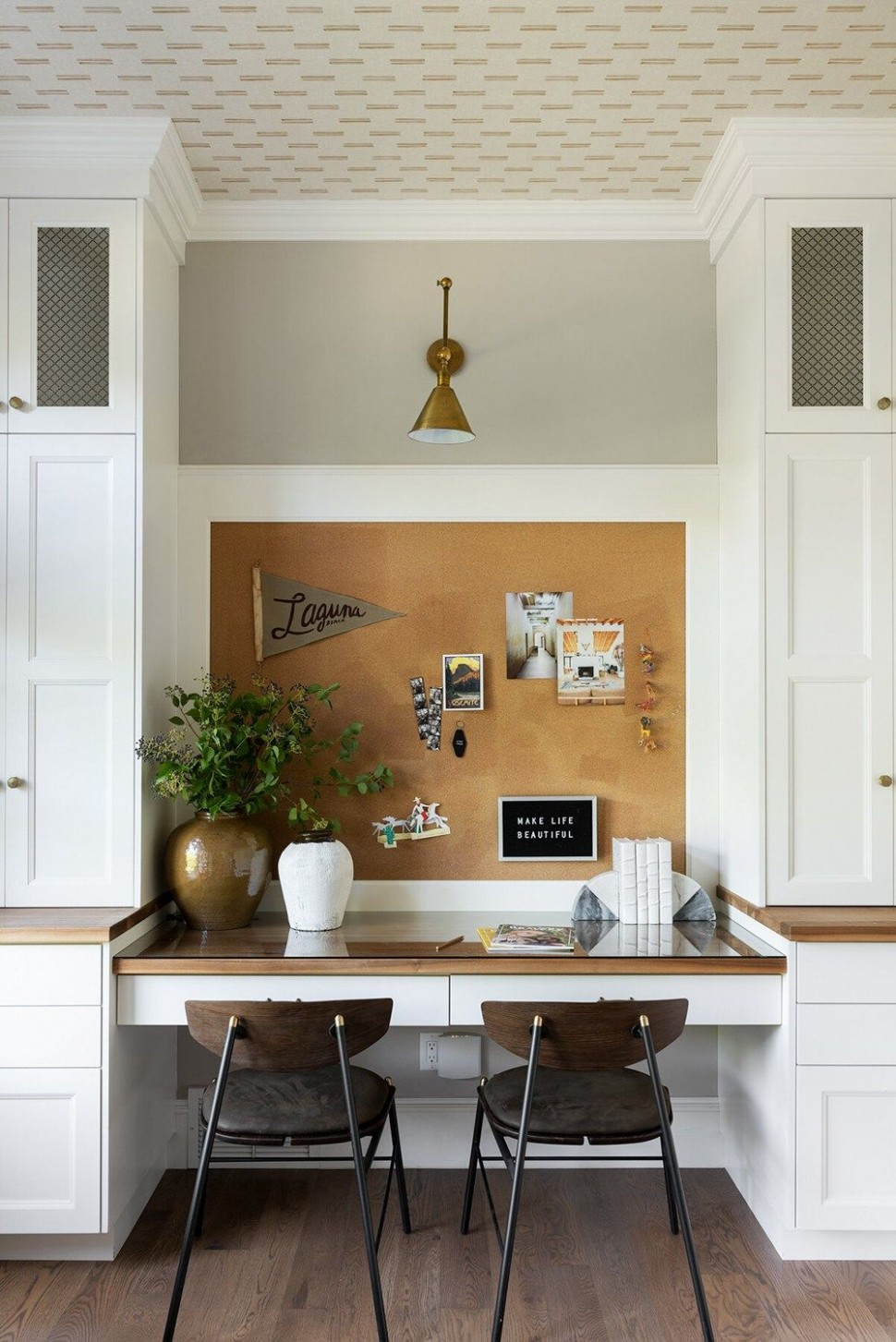10 Pins : Pinterest Inspiration - Room for Tuesday Blog in 10  - Home Office Ideas Pinterest
