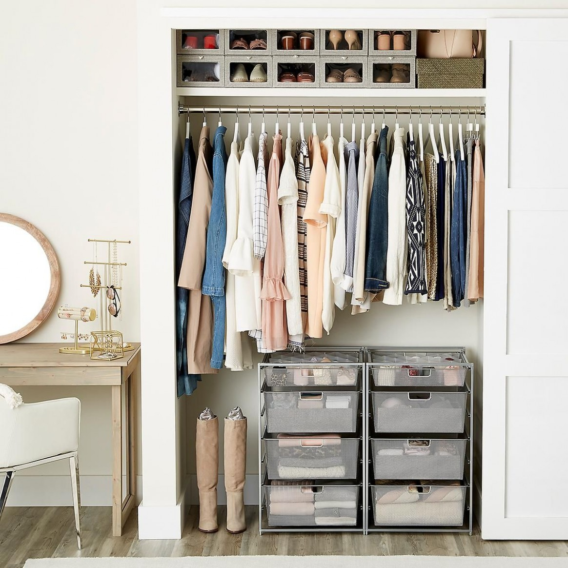 10 Small Apartment Closet Ideas that Save Space with Innovative Design - Closet Ideas In Apartment