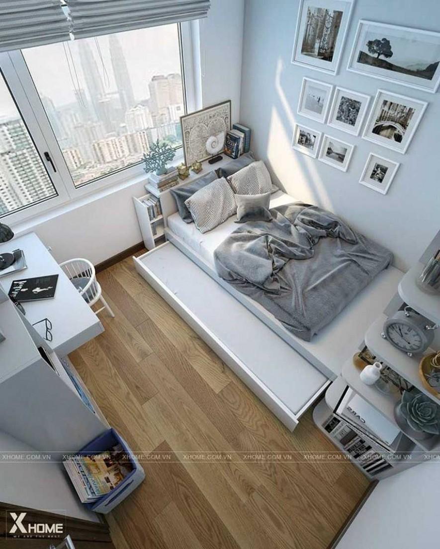 10 Small College Apartment Bedroom Ideas  Ide apartemen, Ide  - Design Apartment Kecil