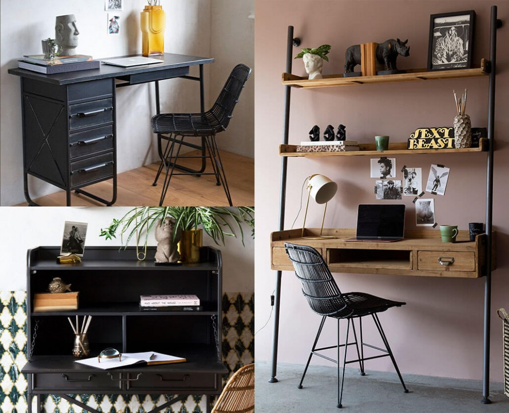10 Small Home Office Ideas  Rockett St George - Small Home Office Ideas Uk