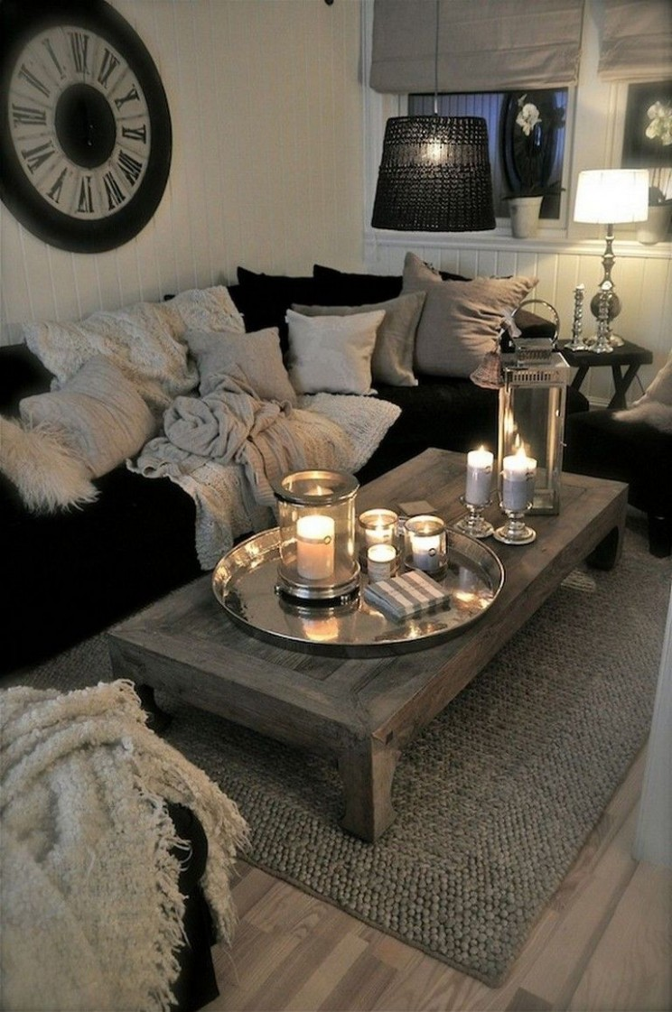 10+ Smart First Apartment Decorating Ideas on A Budget  - Apartment Living Room Decor Ideas