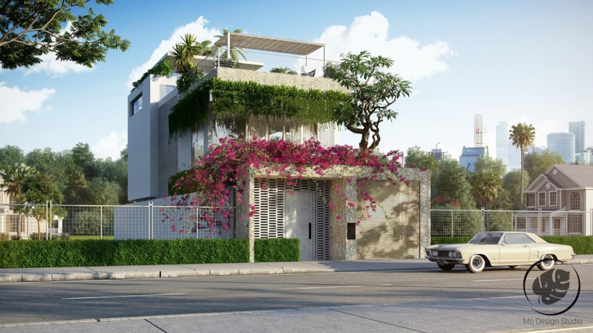10 Stunning Modern Home Exterior Designs That Have Awesome Facades - Apartment Outer Design