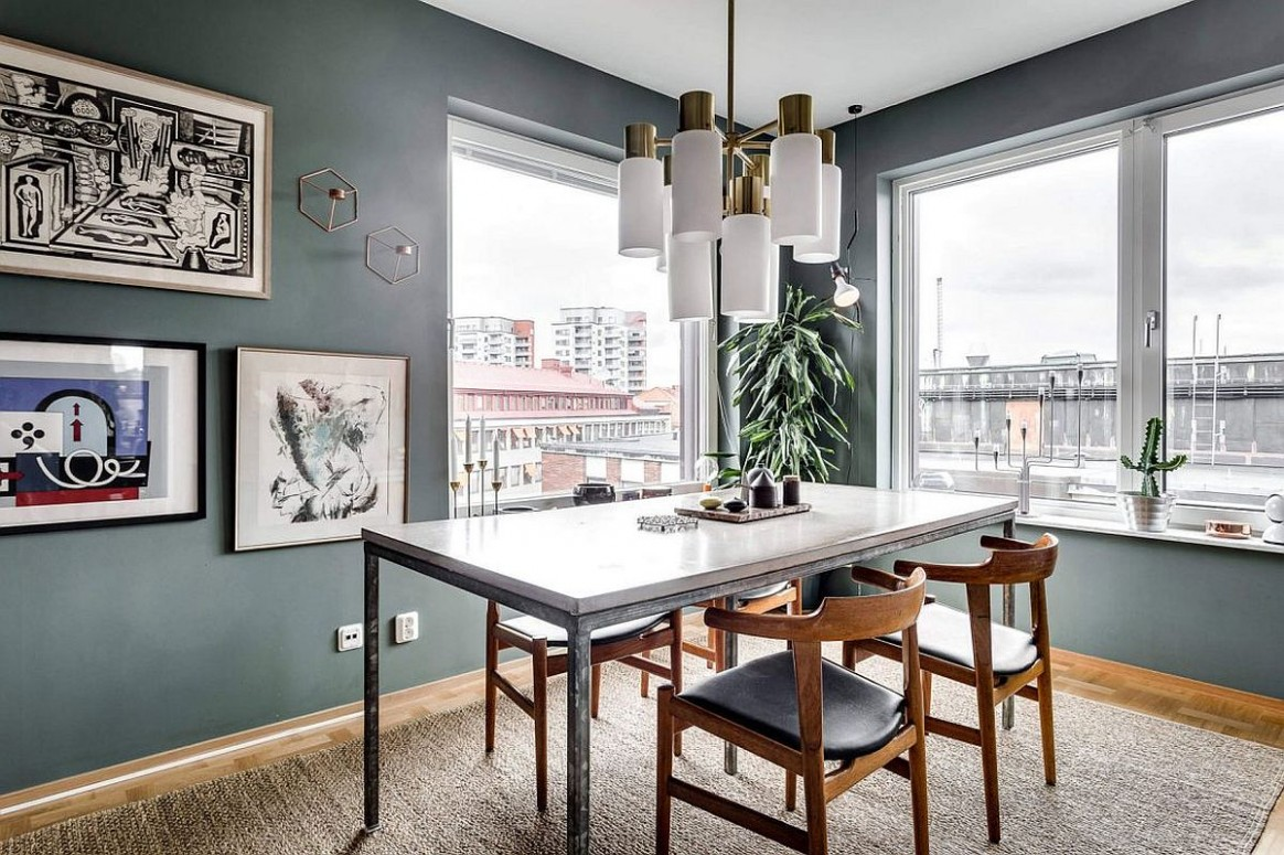 10 Tiny Apartment Dining Rooms that Save Space and Multitask! - Dining Room Ideas For Apartments
