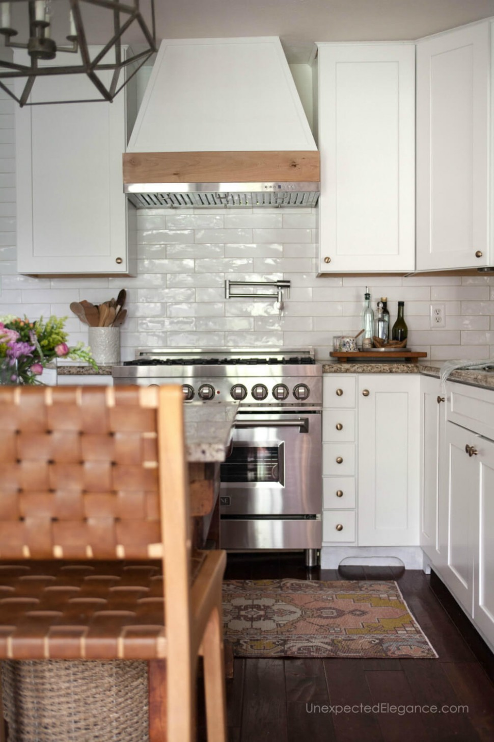 10 Ways to Update Kitchen Cabinets  Unexpected Elegance - Replace Just One Wall Of Kitchen Cabinets