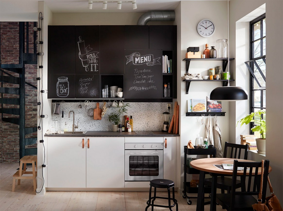 10 Wonderful One Wall Kitchens And Tips You Can Use From Them - Replace Just One Wall Of Kitchen Cabinets