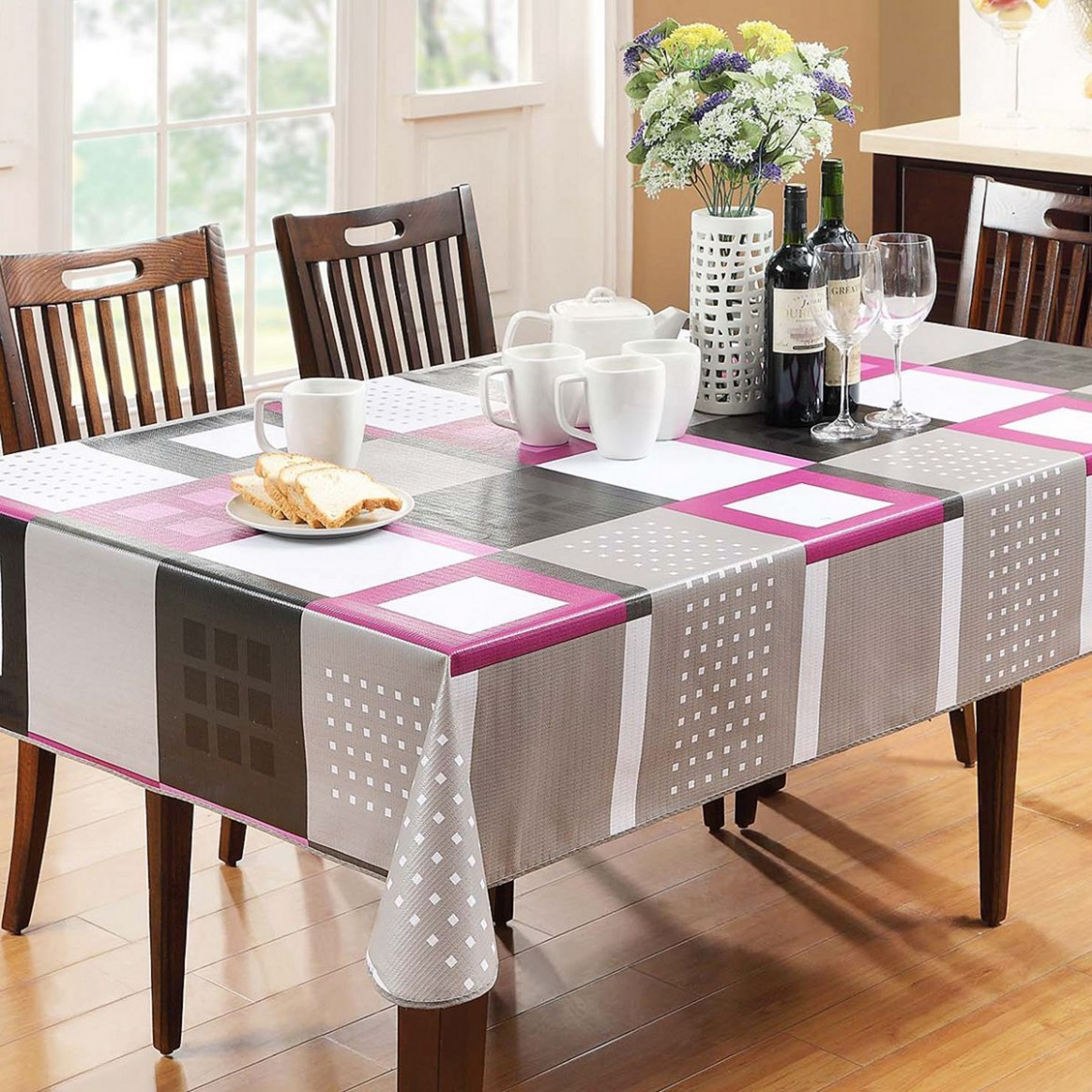11 Awesome Dining Room Design With Bright Color Dining Table Ideas  - Dining Room Ideas Tablecloth