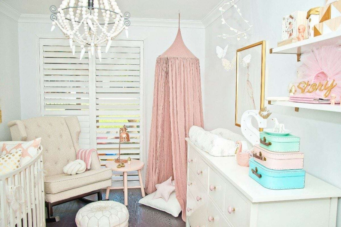 11 Baby Room Ideas for Girls You can Steal for your Own Nursery  - Baby Room Voucher