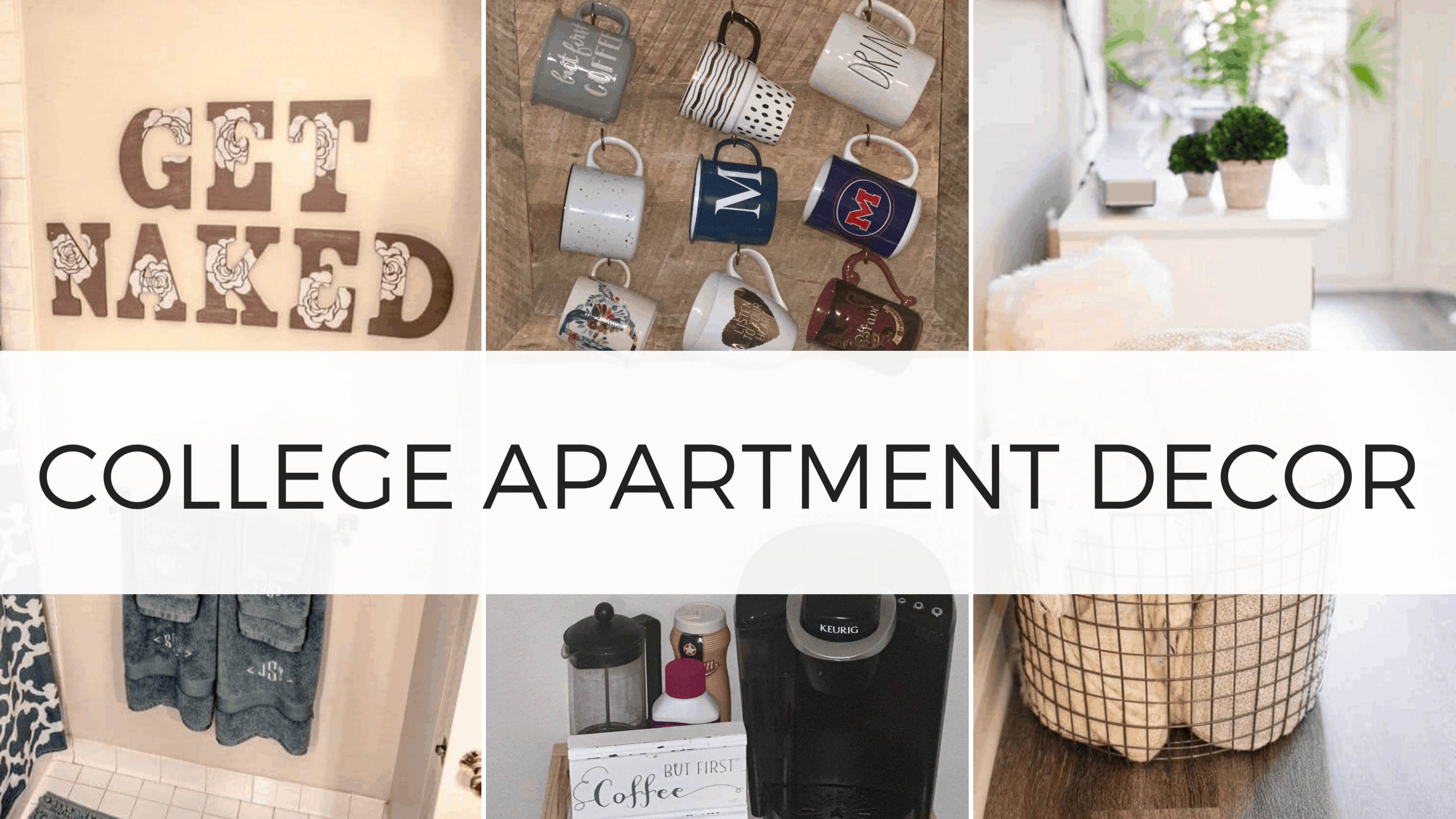 11 Best College Apartment Decor Ideas You Need To Copy - By Sophia Lee - Apartment Decorating Ideas College Students