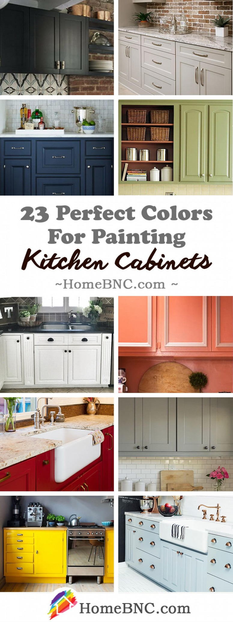 11 Best Kitchen Cabinets Painting Color Ideas and Designs for 11 - Best Home Kitchen Cabinets