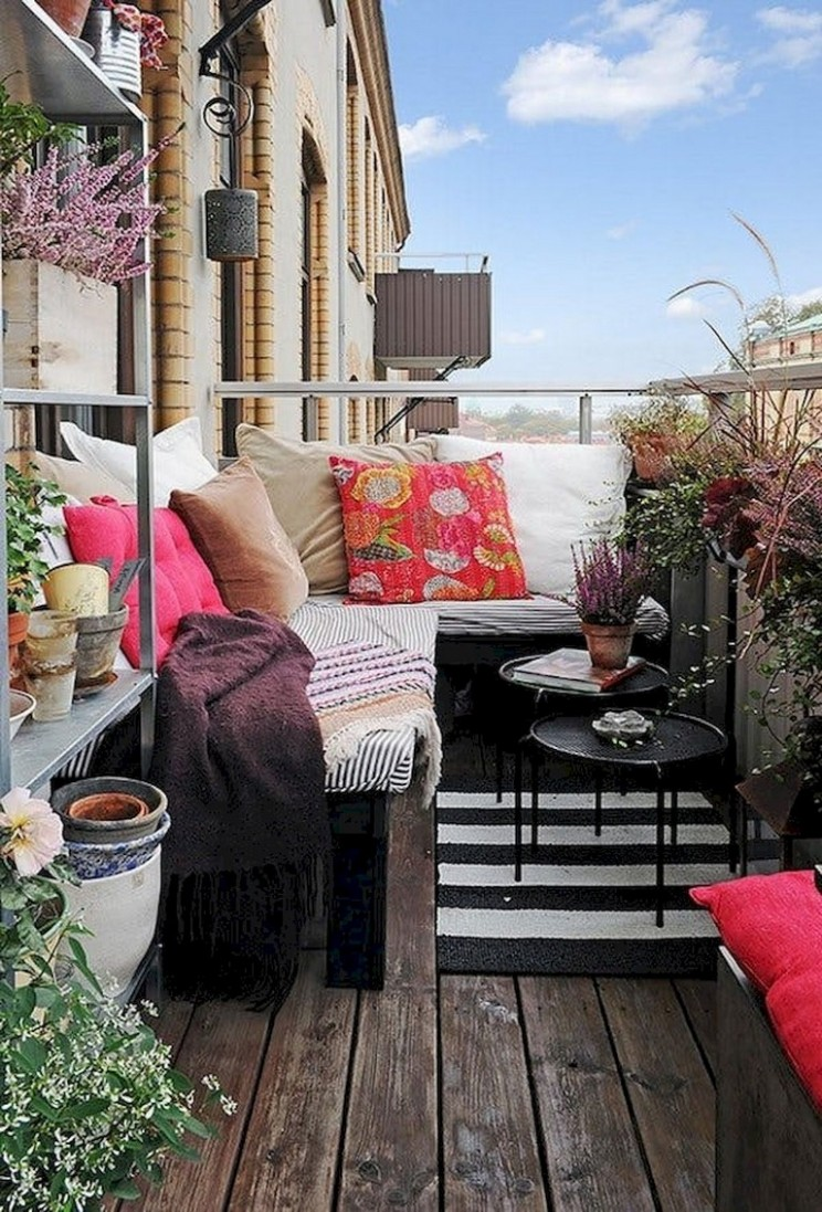 11+ Best Small Apartment Balcony Decorating Ideas - Decorating Apartment Balcony Ideas
