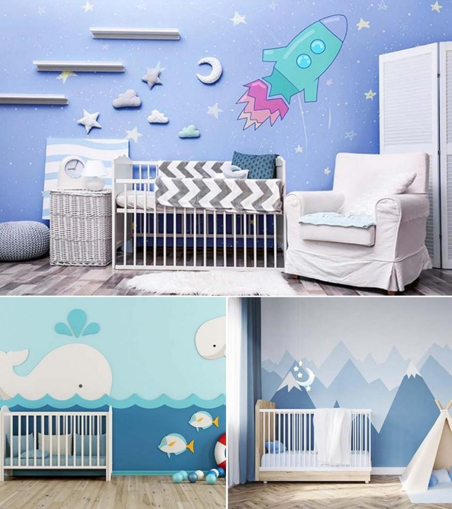 11 Cute Baby Boy Nursery Room Ideas - Baby Room Blue