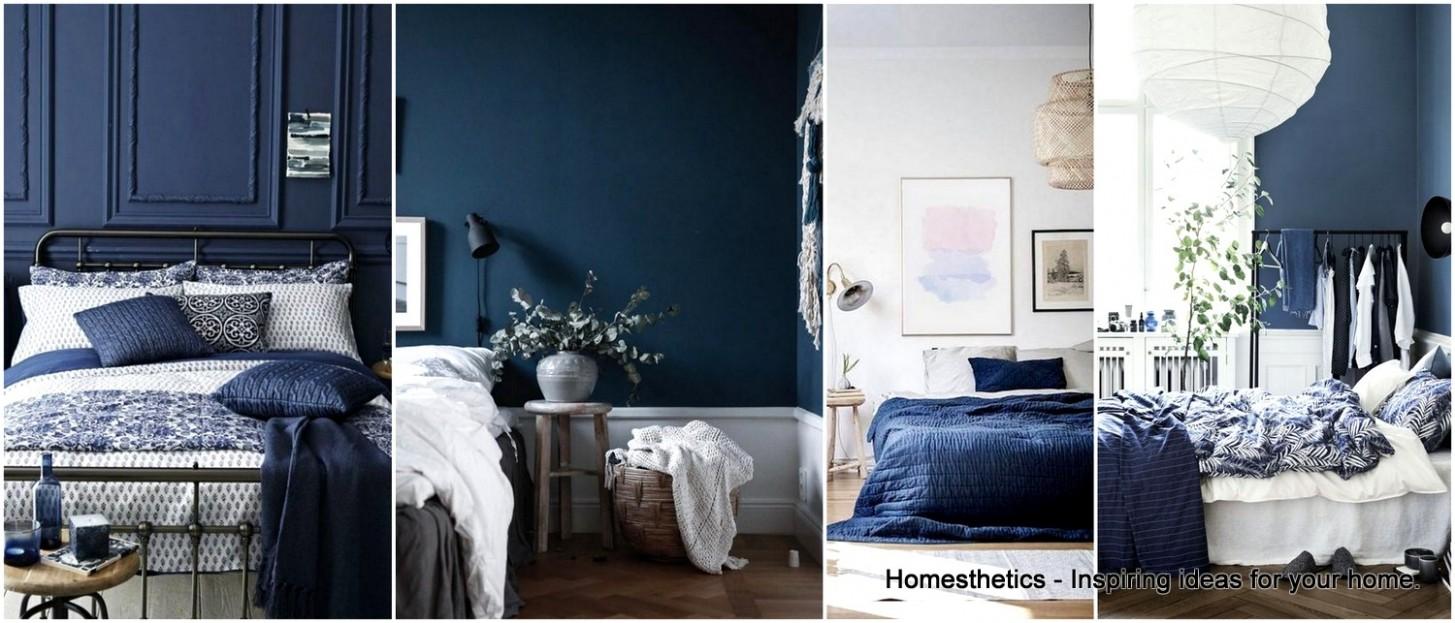 11 Epic Navy Blue Bedroom Design Ideas to Inspire You  - Bedroom Ideas Dark Blue
