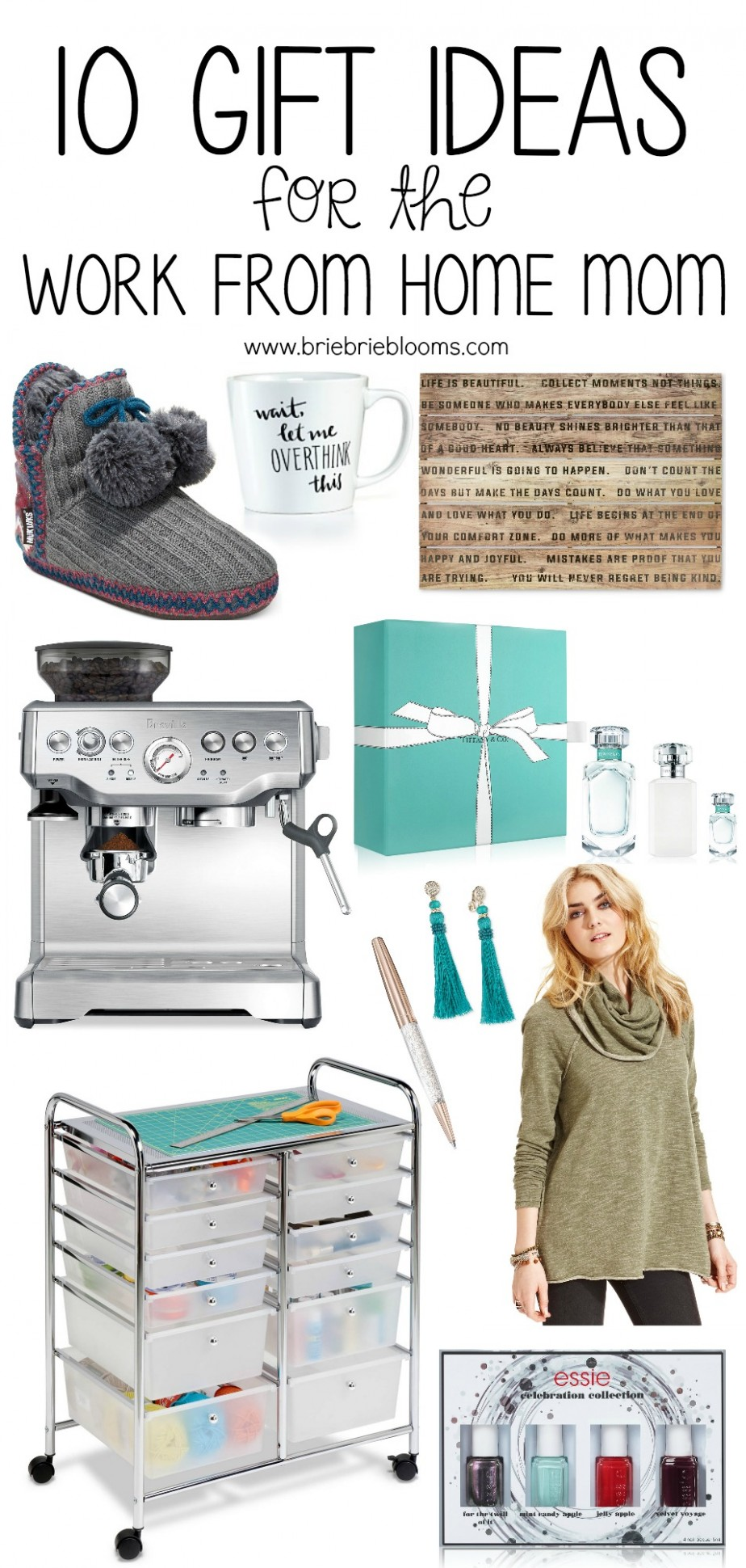11 Gift Ideas for the Work from Home Mom - Brie Brie Blooms - Home Office Gift Ideas