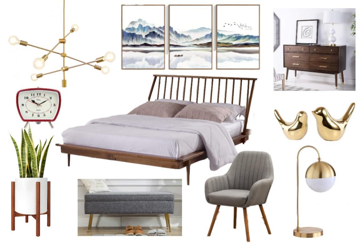11 Gorgeous Mid Century Modern Bedroom Decor Ideas - Bedroom Ideas Amazon