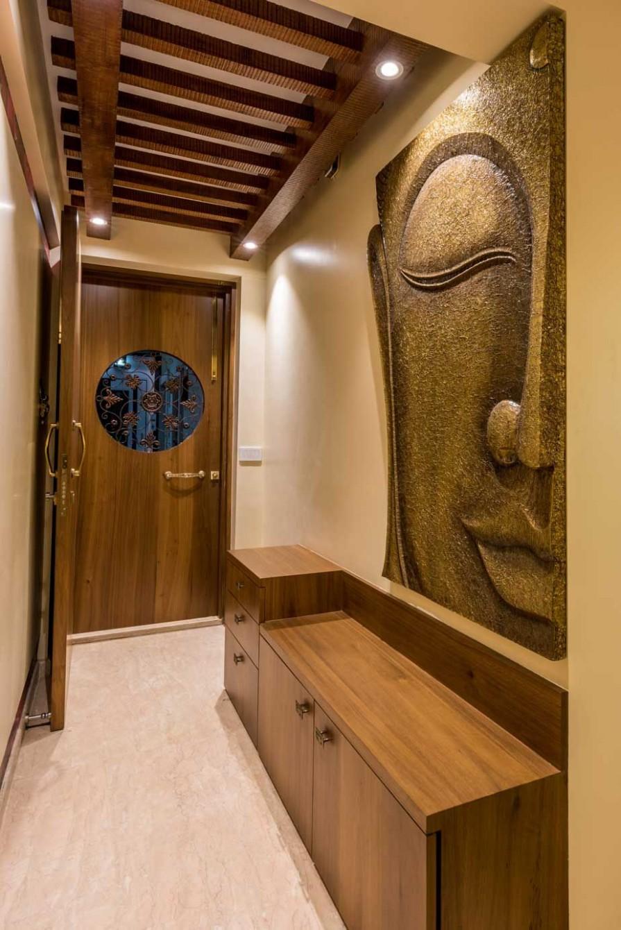 11, hiranandani thane - iStudio architecture  Foyer design, Home  - Apartment Entrance Design