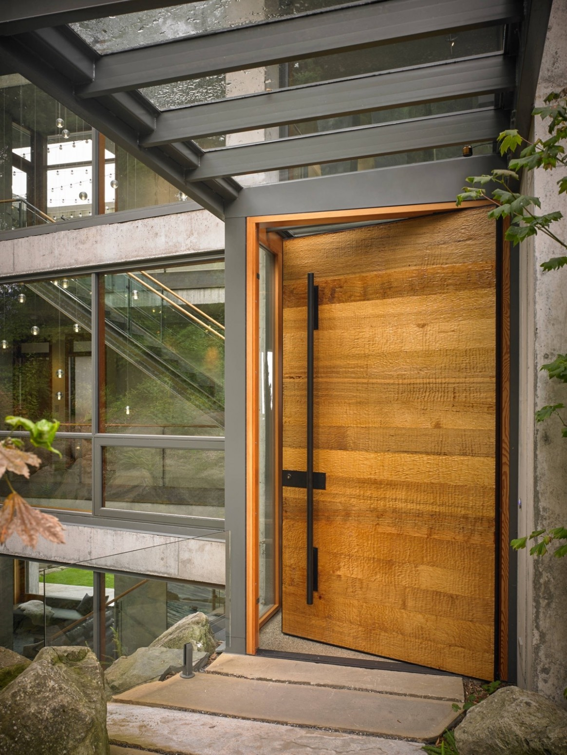 11 Modern Front Door Designs - Apartment Main Door Design