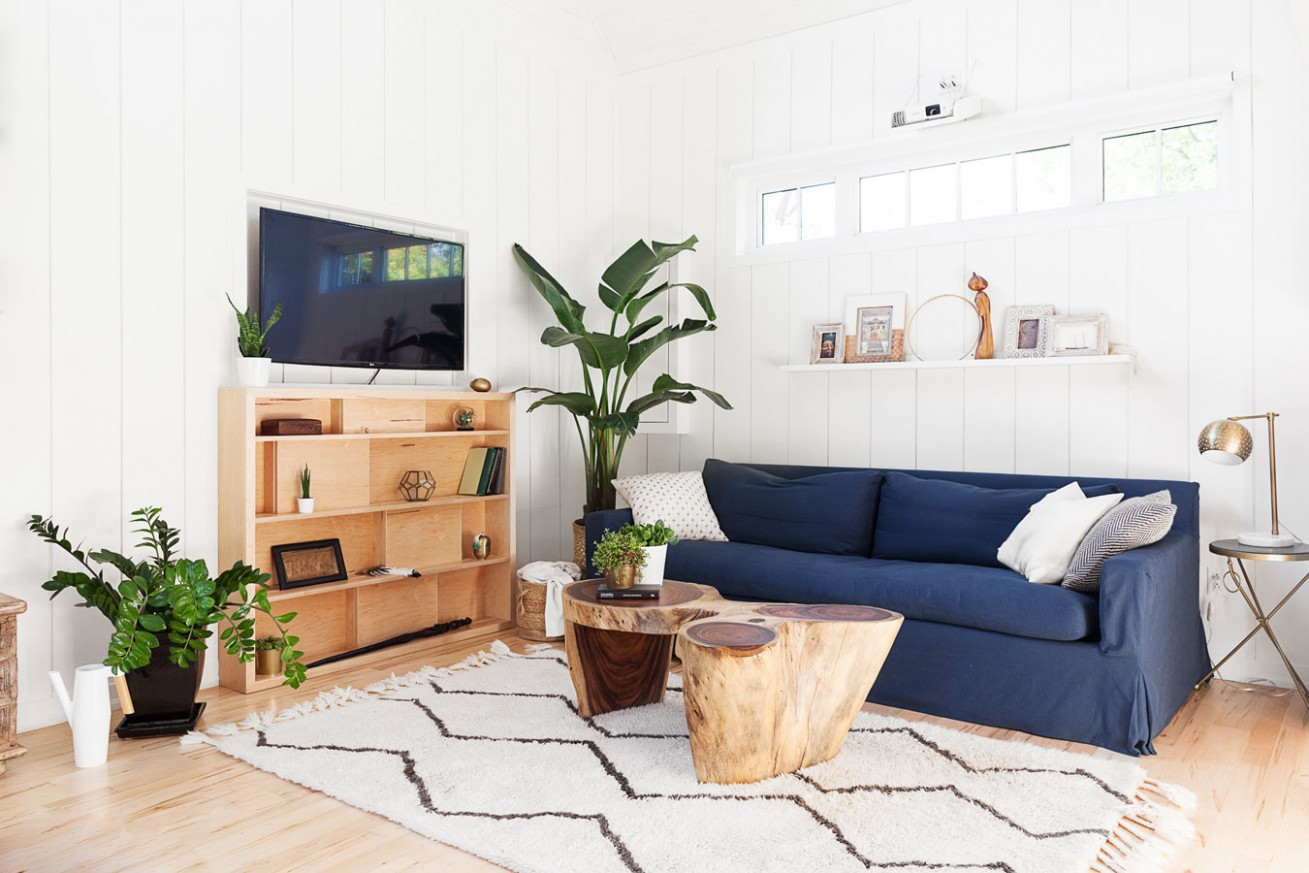 11 Plant-Filled Living Rooms for Serious Decor Inspiration - Dining Room Ideas With Plants