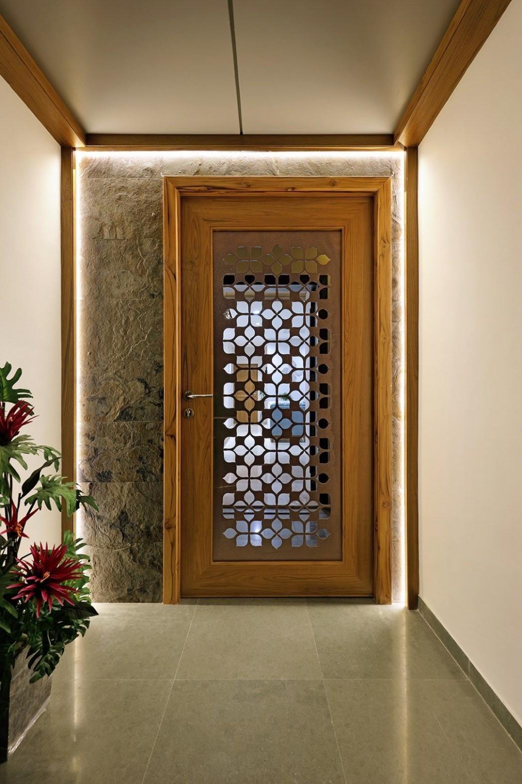 11 reference of apartment interior door ideas in 11  Entrance  - Apartment Main Door Design