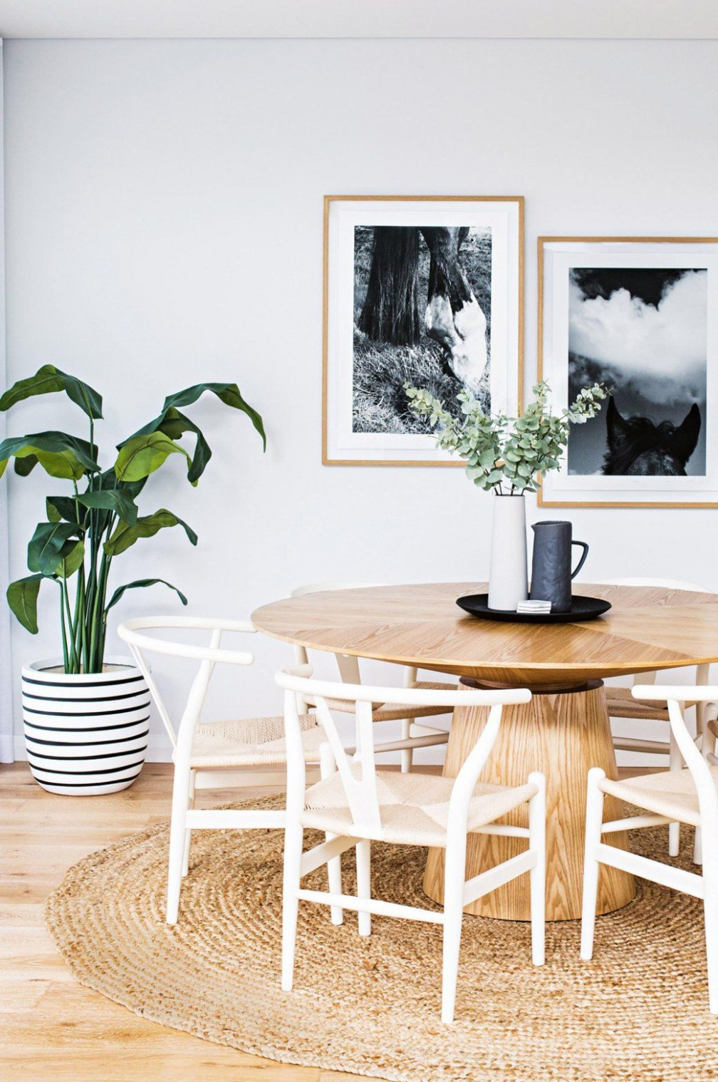 11 Rooms With Plants For Minimalists — decor11  Scandinavian  - Dining Room Ideas With Plants