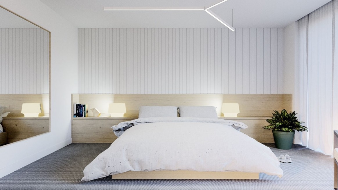 11 Serenely Minimalist Bedrooms To Help You Embrace Simple Comforts - Bedroom Ideas Minimalist