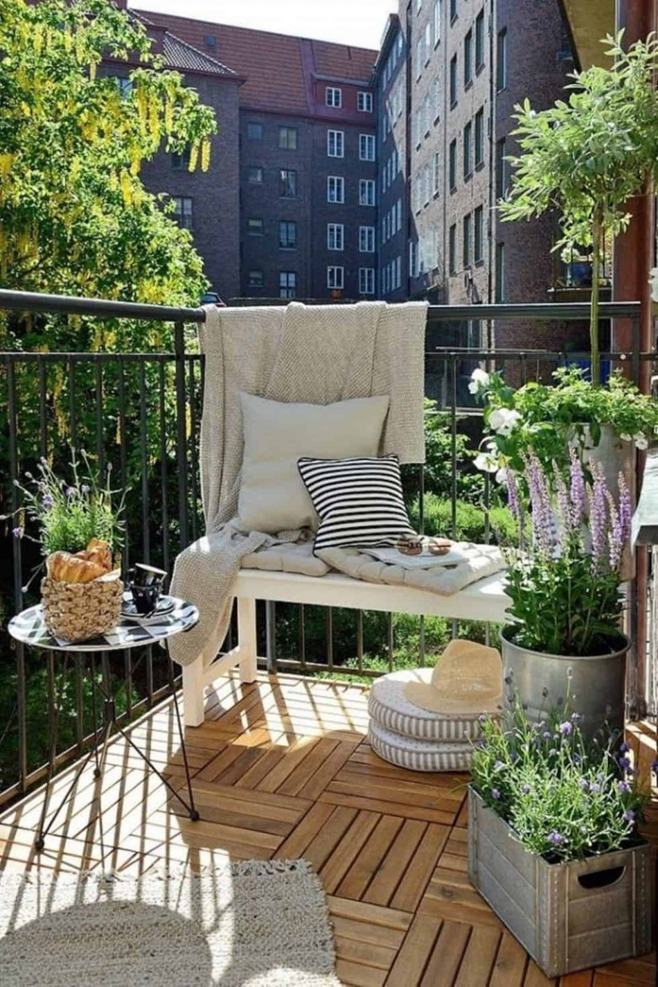11 Super cool and breezy small balcony design ideas - Decorating Apartment Balcony Ideas