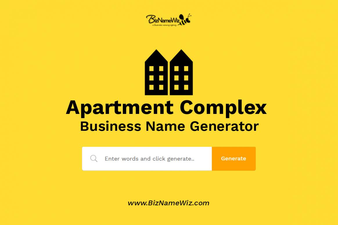 12,12+ Apartment Complex Name Ideas + Availability Check - Apartment Design Names