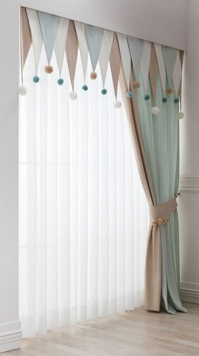 12 Adorable Window Curtains Design Ideas And Decor - Ideaboz  - Baby Room Valances
