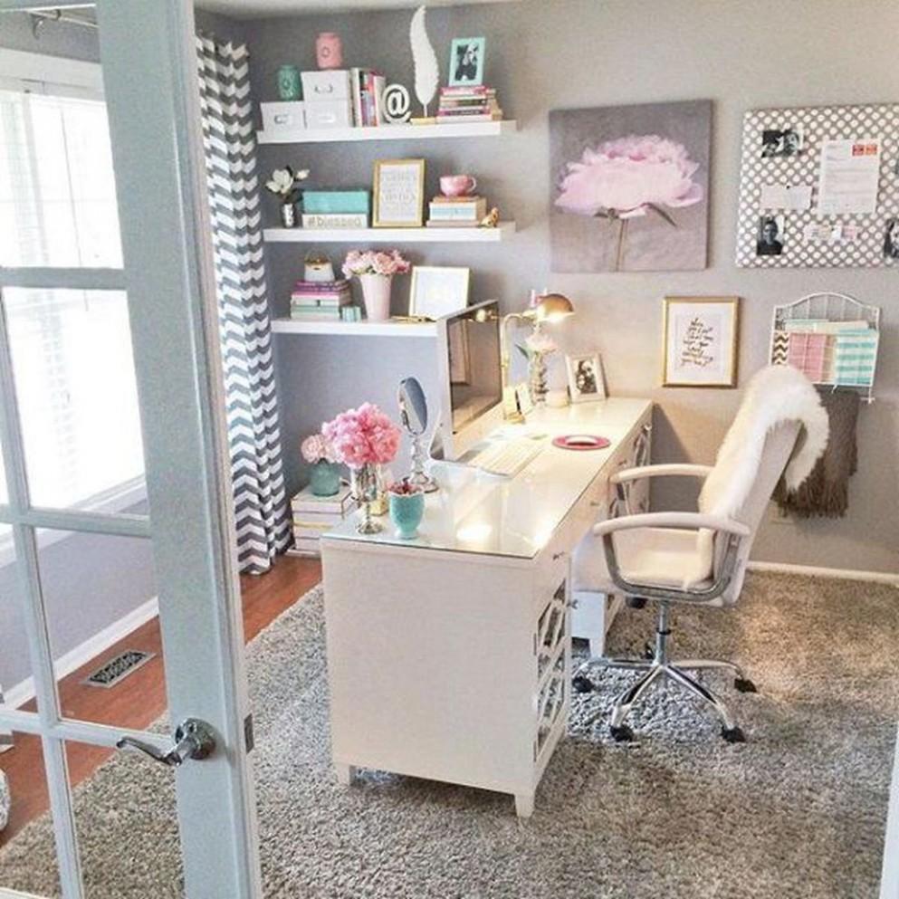 12+ Affordable Diy Home Office Decor Ideas With Tutorials - HOMYRACKS - Home Office Ideas Diy