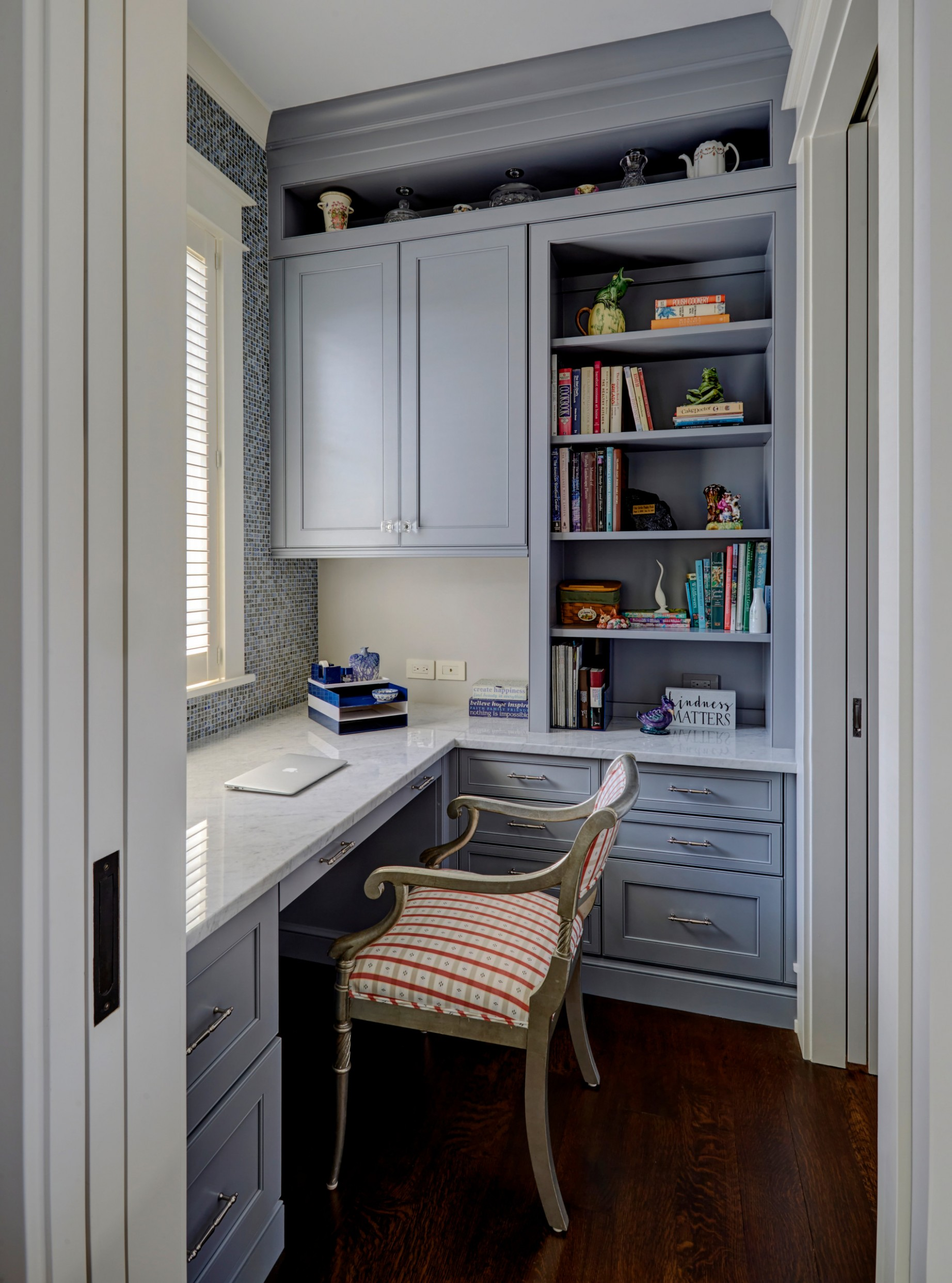 12 Beautiful Small Home Office Pictures & Ideas October 12  Houzz - Home Office Kitchen Design Ideas