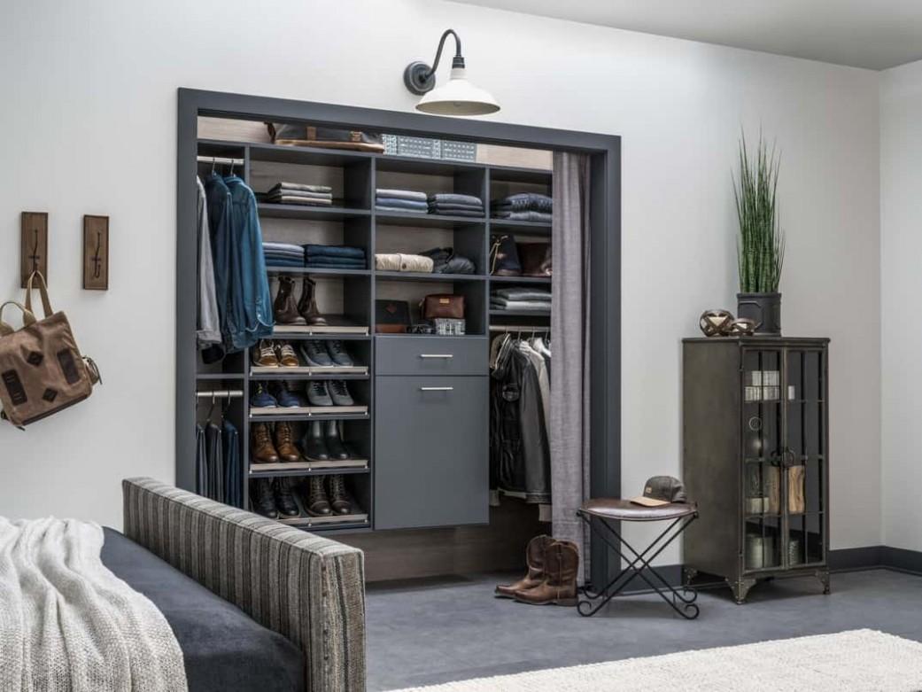 12 Bedroom Closet Ideas (Photos) - Closet Ideas In Bedroom