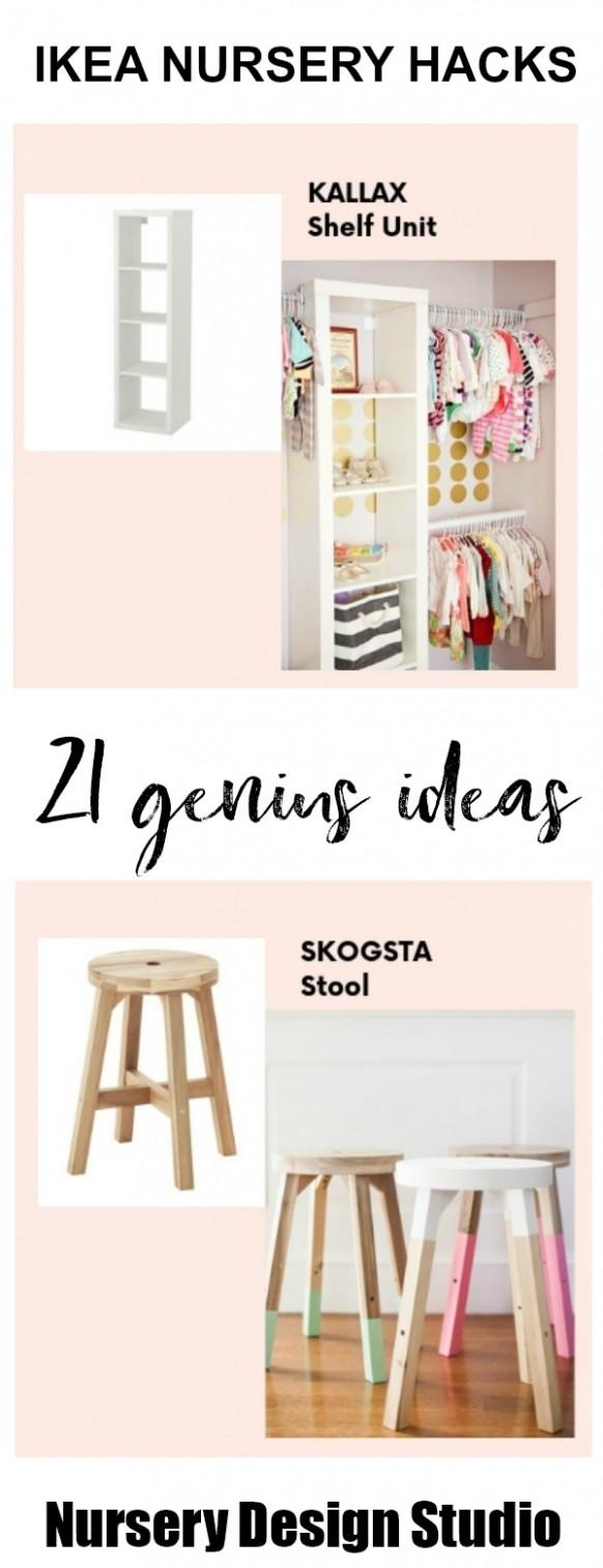 12 BEST IKEA NURSERY HACKS THAT ARE BRILLIANT  Nursery Design Studio - Baby Room Hacks