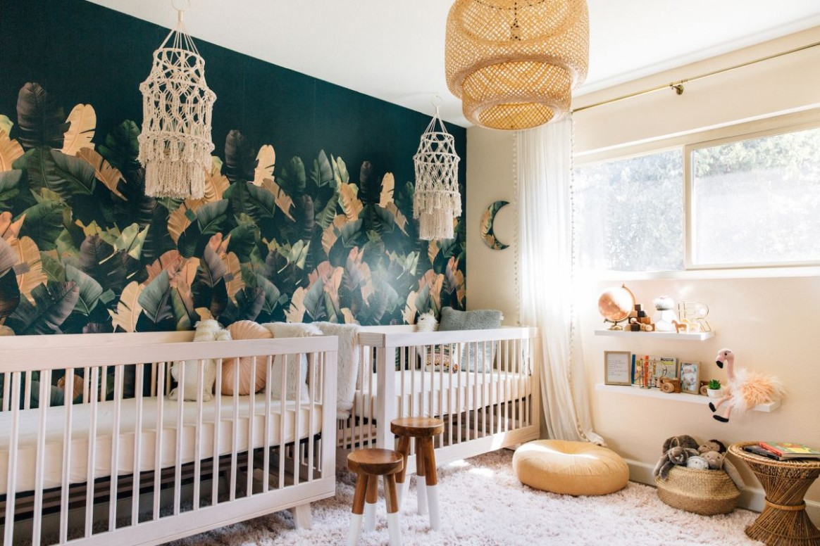 12 Best Patterns For Nursery Wallpaper - Create A Room Your Kids  - Baby Room Wallpaper Ideas
