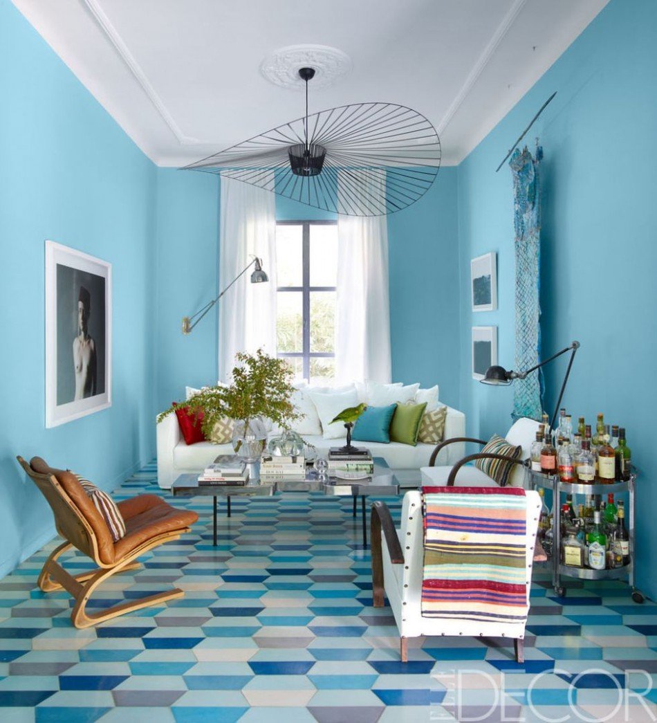 12 Blue Room Decorating Ideas - How to Use Blue Wall Paint & Decor - Bedroom Ideas Light Blue Walls