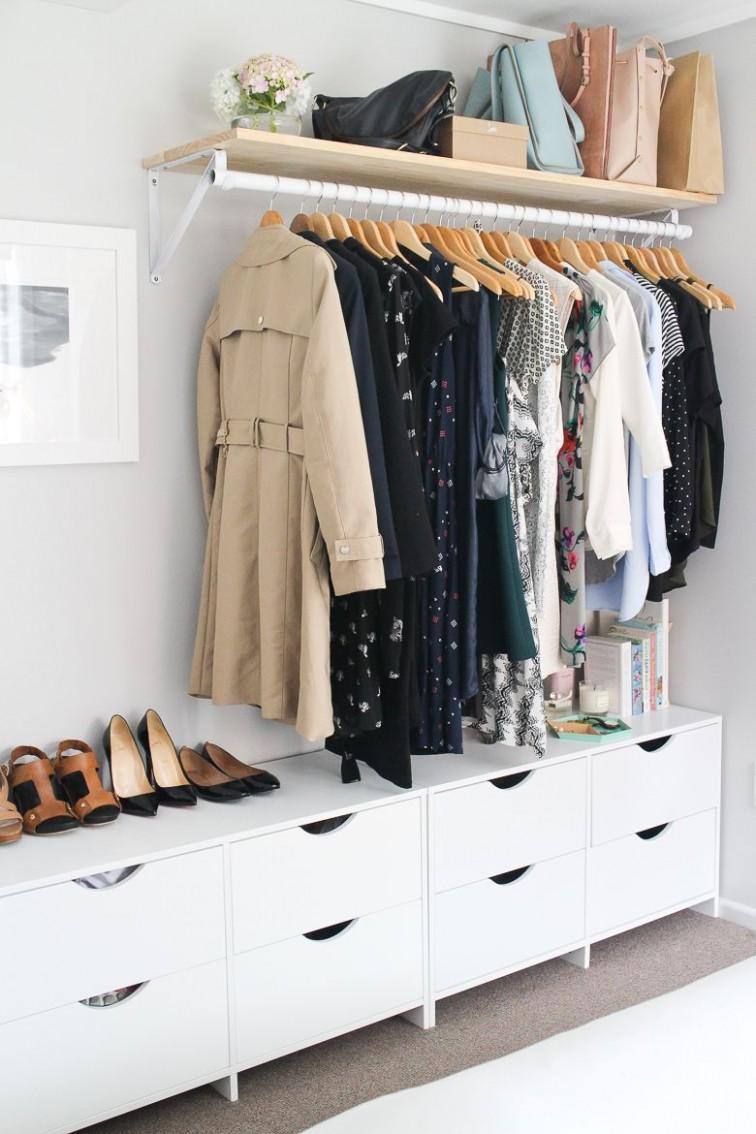 12 Brilliant Storage Tricks for Small Bedrooms - Closet Ideas In Bedroom