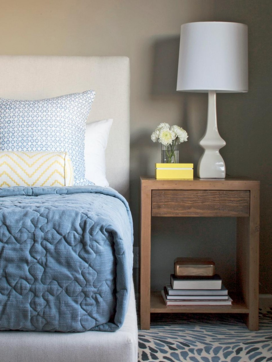 12 Cheery Yellow Bedrooms  HGTV - Bedroom Ideas Yellow And Blue
