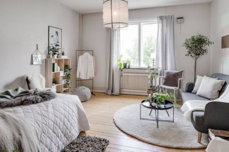 12 Cozy Minimalist Studio Apartment Decor Ideas - ROUNDECOR  - Apartment Design Minimalist