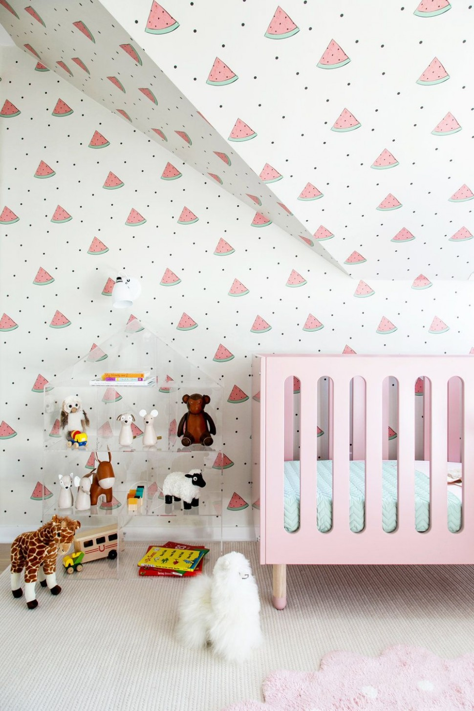 12 Cute Nursery Decorating Ideas - Baby Room Designs for Chic Parents - Baby Room Wallpaper Ideas