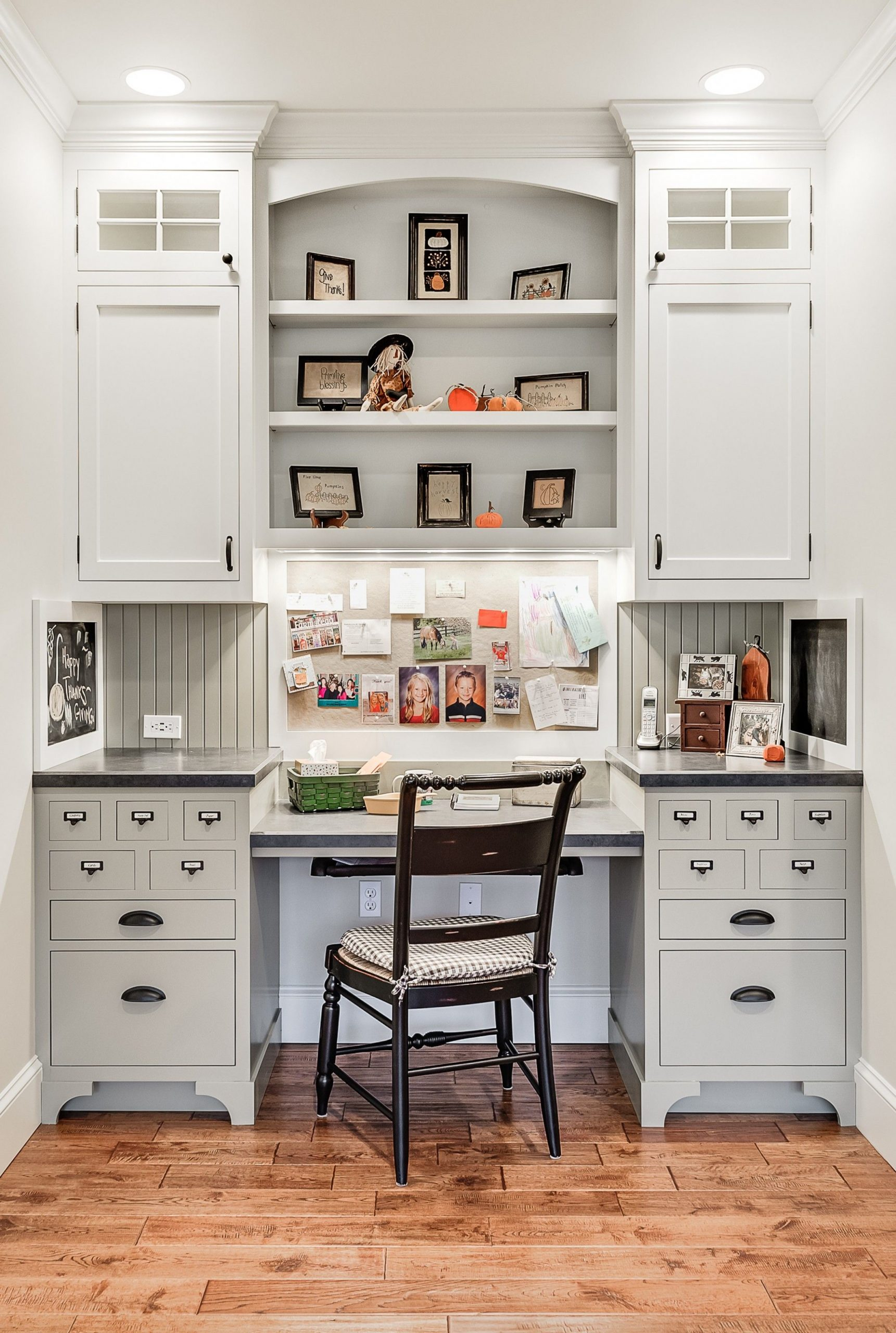 12 Design Tricks for a Fab Home Office  Kitchen office, Kitchen  - Home Office Kitchen Design Ideas