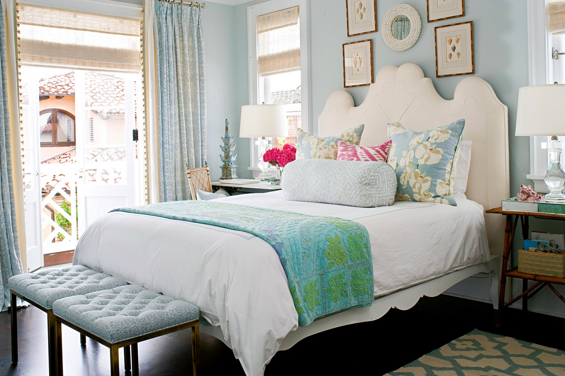 12 Distinctive Ways to Decorate with Blue Walls in Every Shade  - Bedroom Ideas Light Blue Walls
