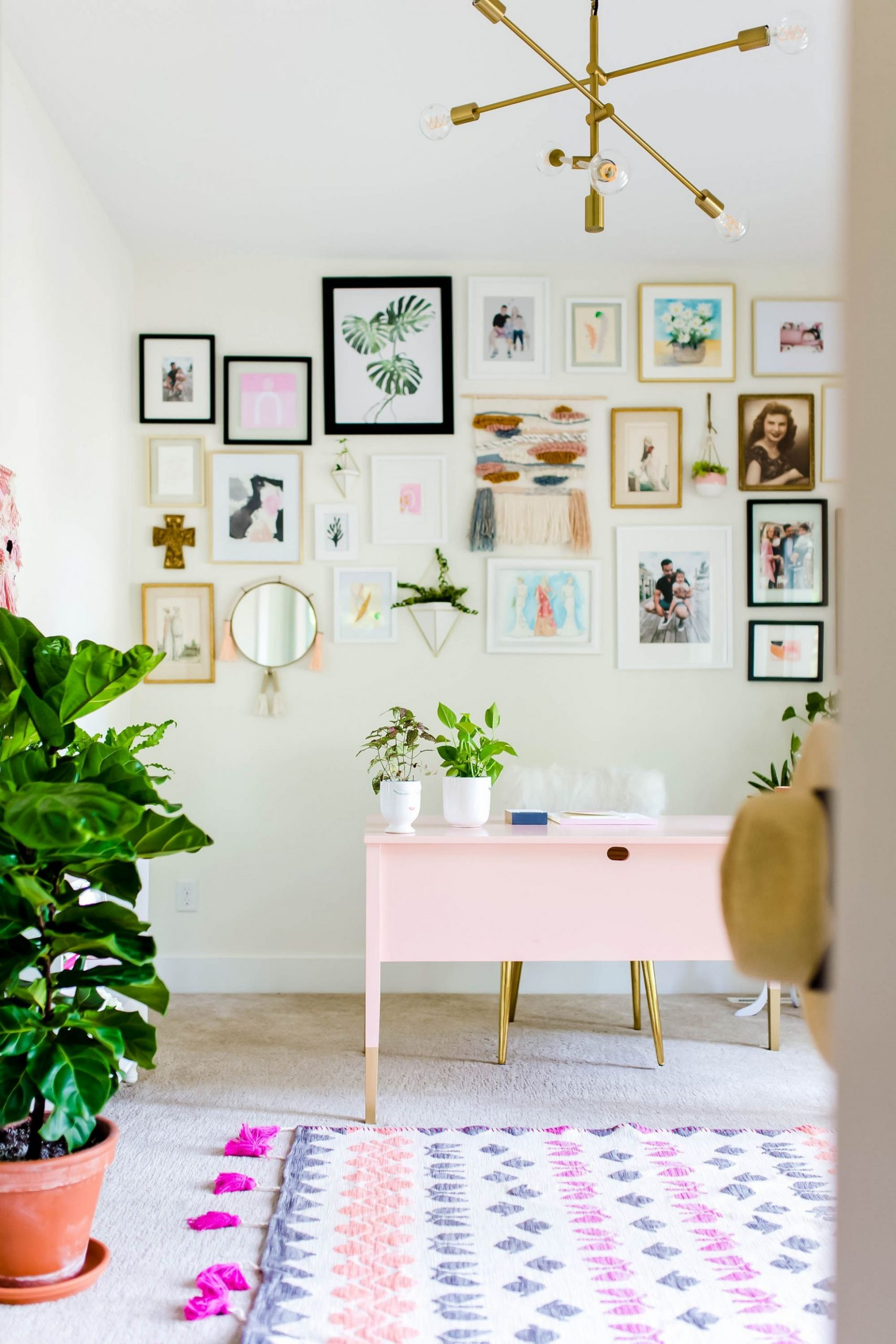 12 DIY Home Office Decor Ideas - Best Home Office Decor Projects - Home Office Ideas Gallery
