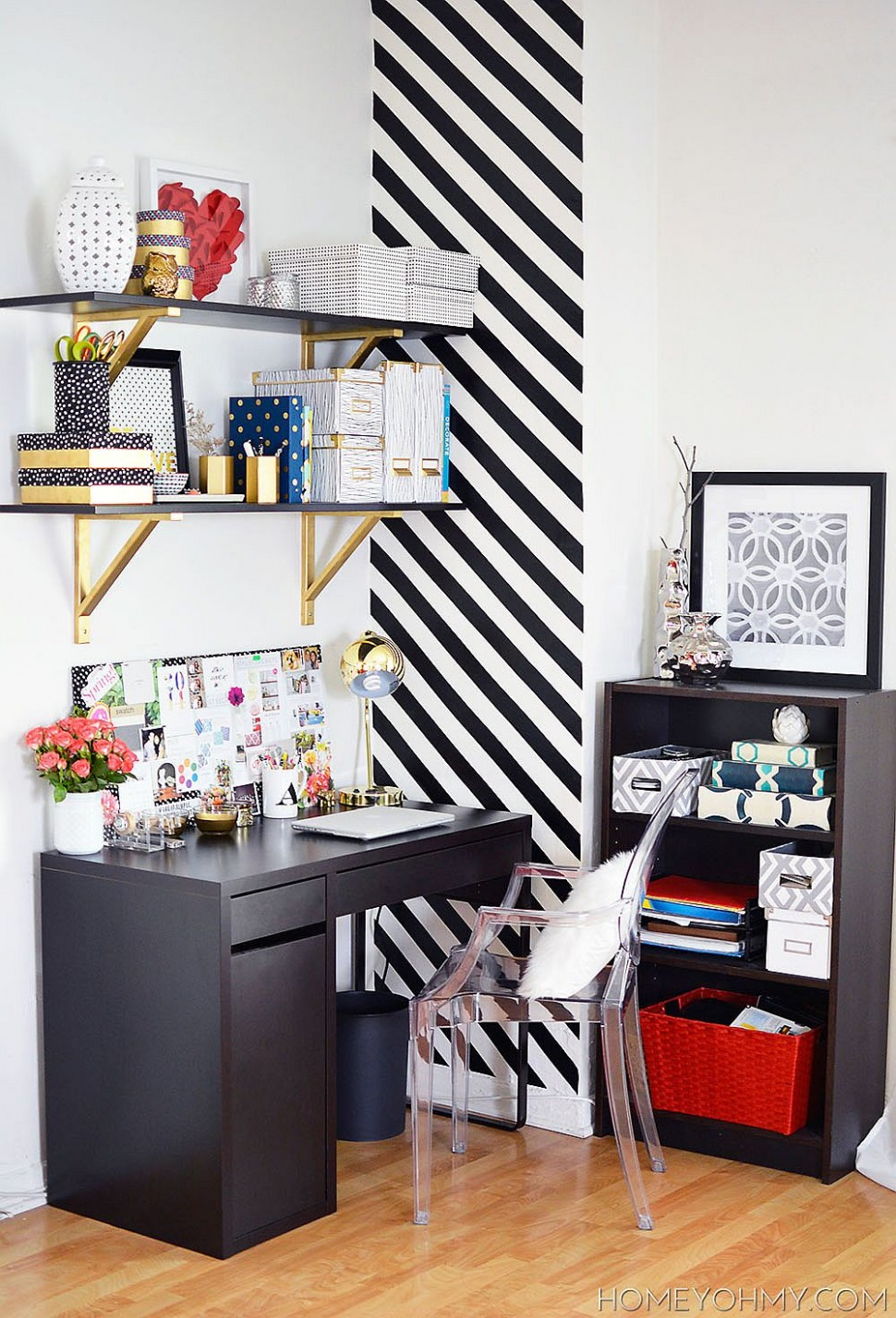 12 DIY Home Office Organization and Storage Ideas that Maximize Space - Home Office Ideas Diy